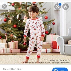 Pottery Barn Kids Elf of the Shelf Pajamas